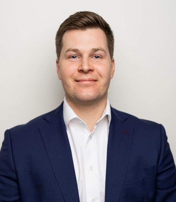 Portrét Jana Nemečka - Obchodního ředitele fondu-
