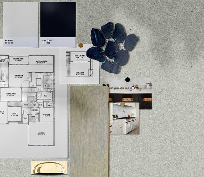 Interior design material