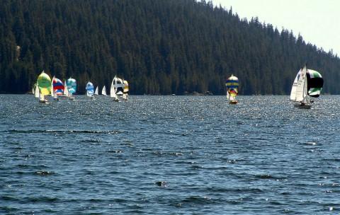 Fresno Yacht Club's High Sierra Regatta