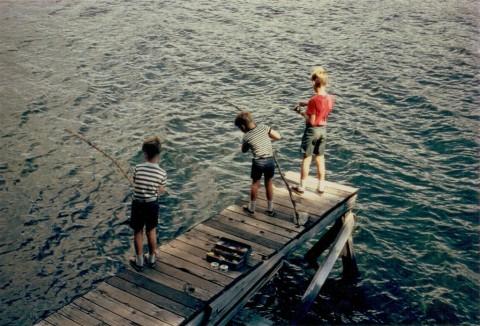 Trout Fishing on Huntington Lake
