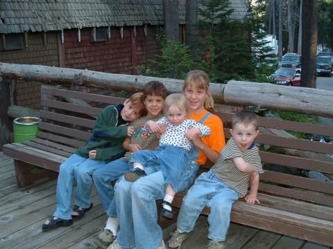 Kids at Lakeshore Resort Huntington Lake