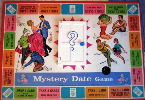 Mystery Date Game guilty pleasure