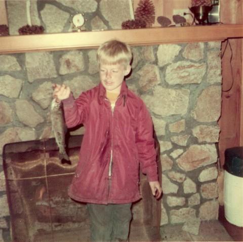 John Hendricks trout fisherman before architect