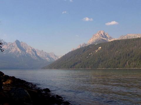 Redfish Lake Idaho Sawtooth Mountains