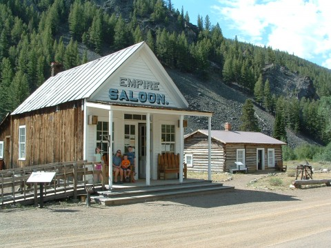 Custer Ghost Town Empire Saloon