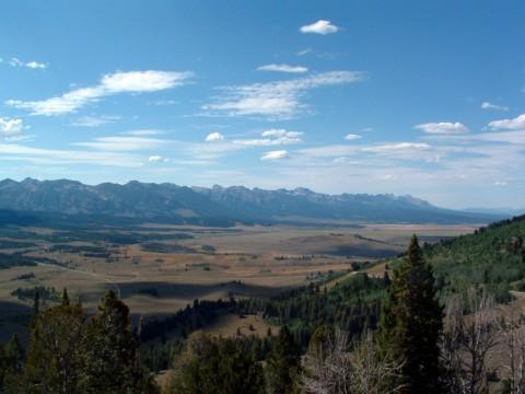Sawtooth Mountains Galena Summit