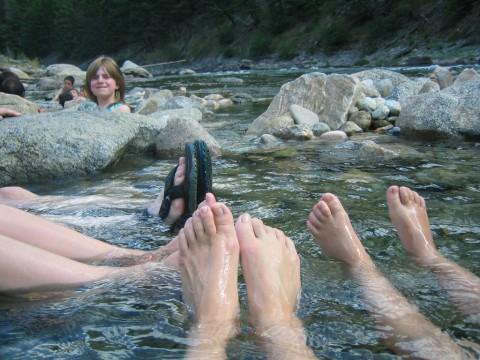 Sunbeam Hot Springs Salmon River
