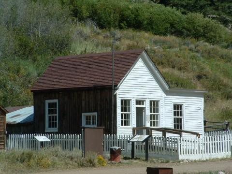 Rustic Tin Can Roof Custer Idaho