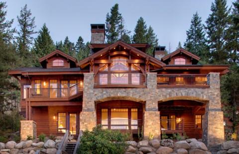 Lakefront Mountain Home