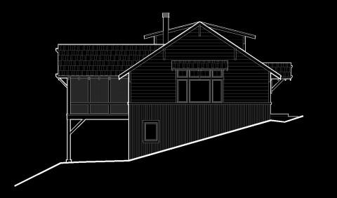 Cabin Side Elevation