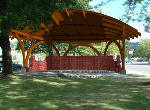 Farmin Park Bandshell