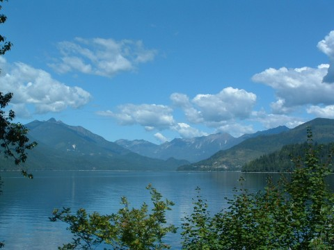 Slocan Lake from New Denver