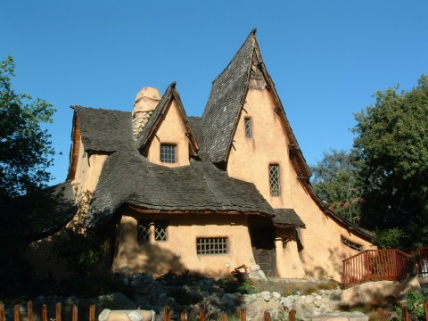 "The Spadena House is often referred to as ""The Witch's House"""