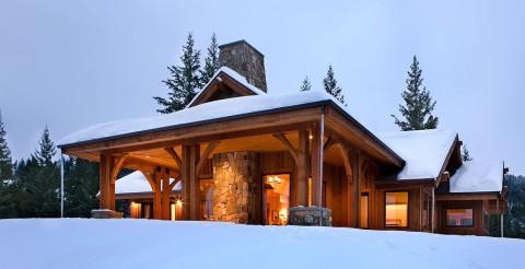 Small Mountain Home