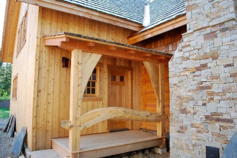 Timber Frame homes can be fun!