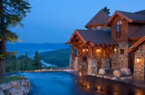 Mountain Style Home by Hendricks Architecture