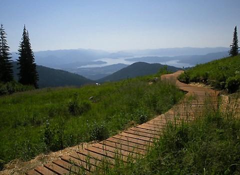 Mountain Biking Around Sandpoint