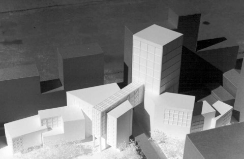 Architect School Model for the Chicago Public Library