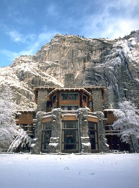 Ahwahnee Lodge in Yosemite