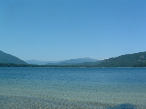 Northern Priest Lake from Canoe Point