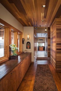 Hendricks Architecture Wood Cedar Interior
