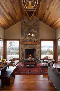 Mountain Lodge Home Hendricks Architecture