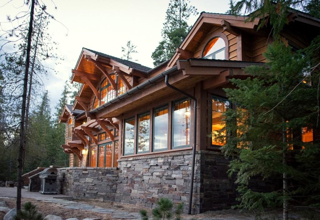 custom home design mountain architect