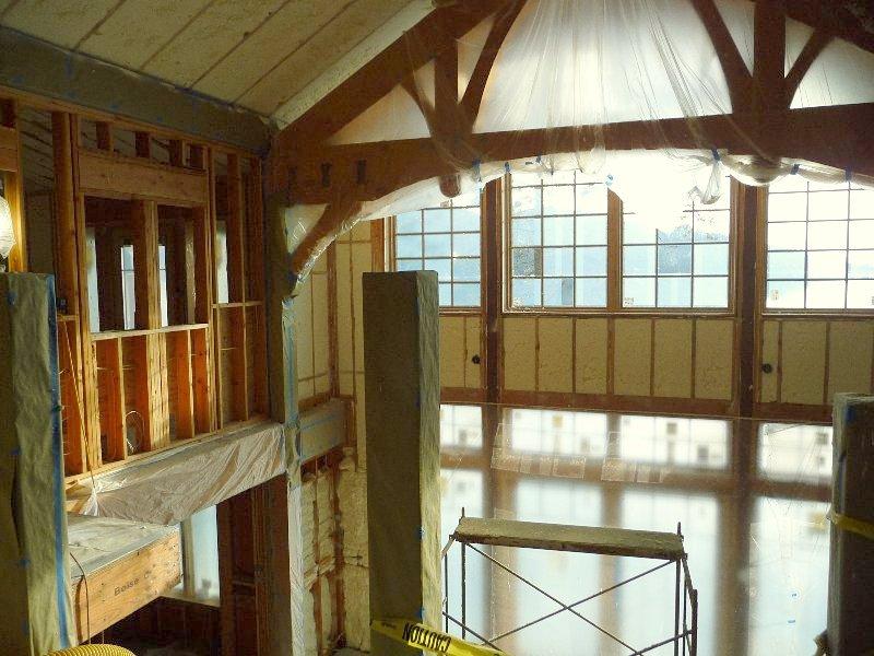 Spray, foam, insulation, roof, wall