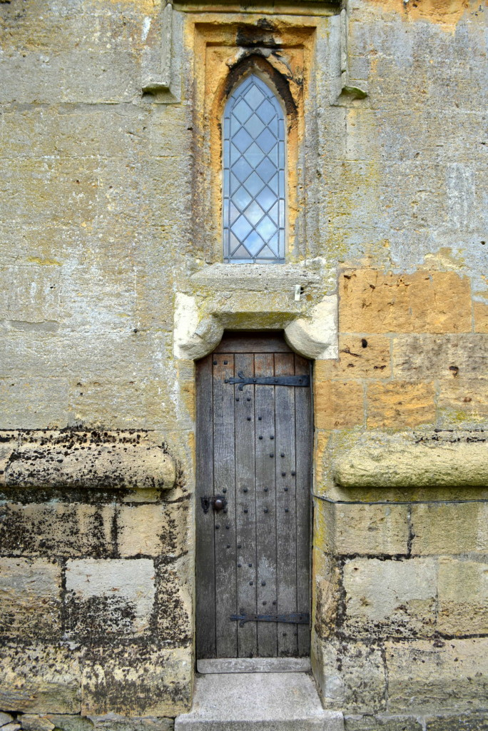 Old world door at Stow-on-the-Wold Parish Church