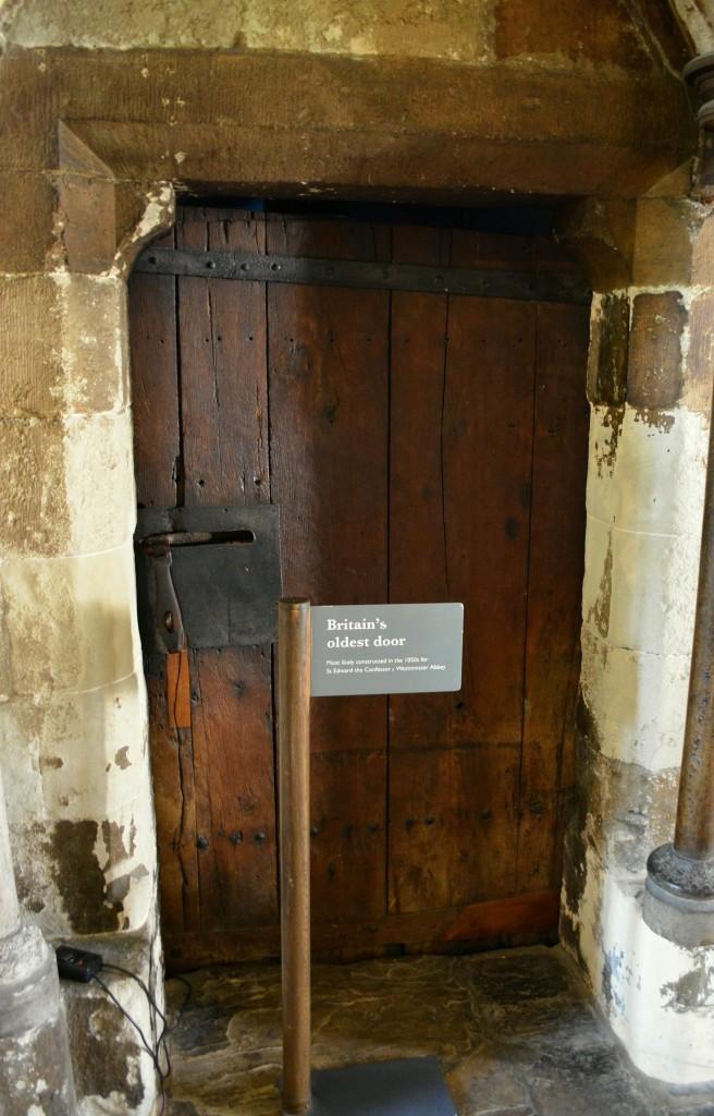 Oldest old world door in England
