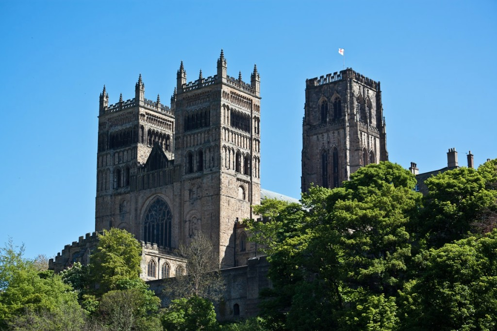 Durham Cathedral Architecture inspired Hogwarts Bell Towers