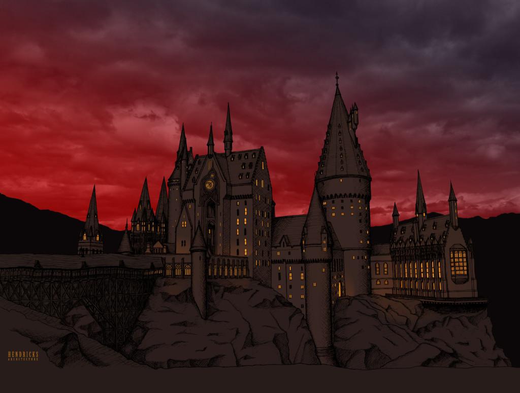 Hogwarts Castle by Hendricks Architecture
