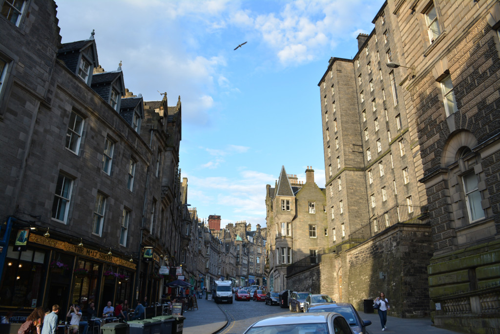Edinburgh Hogwarts Castle Architecture
