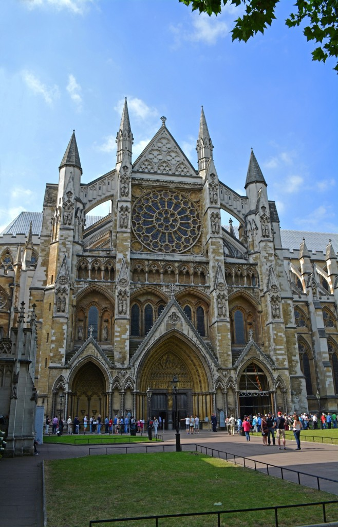 Westminster Abbey's North Entrance has some Hogwarts elements