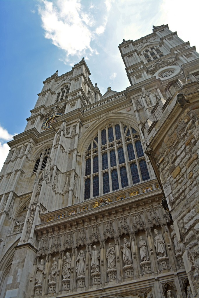 Westminster Abbey inspired the Architecture of Hogwarts Castle