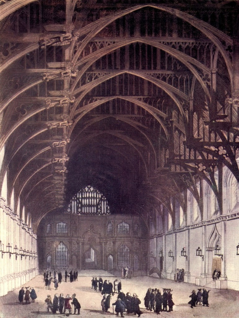 Westminster Hall inspired Hogwarts Great Dining Hall ceiling trusses
