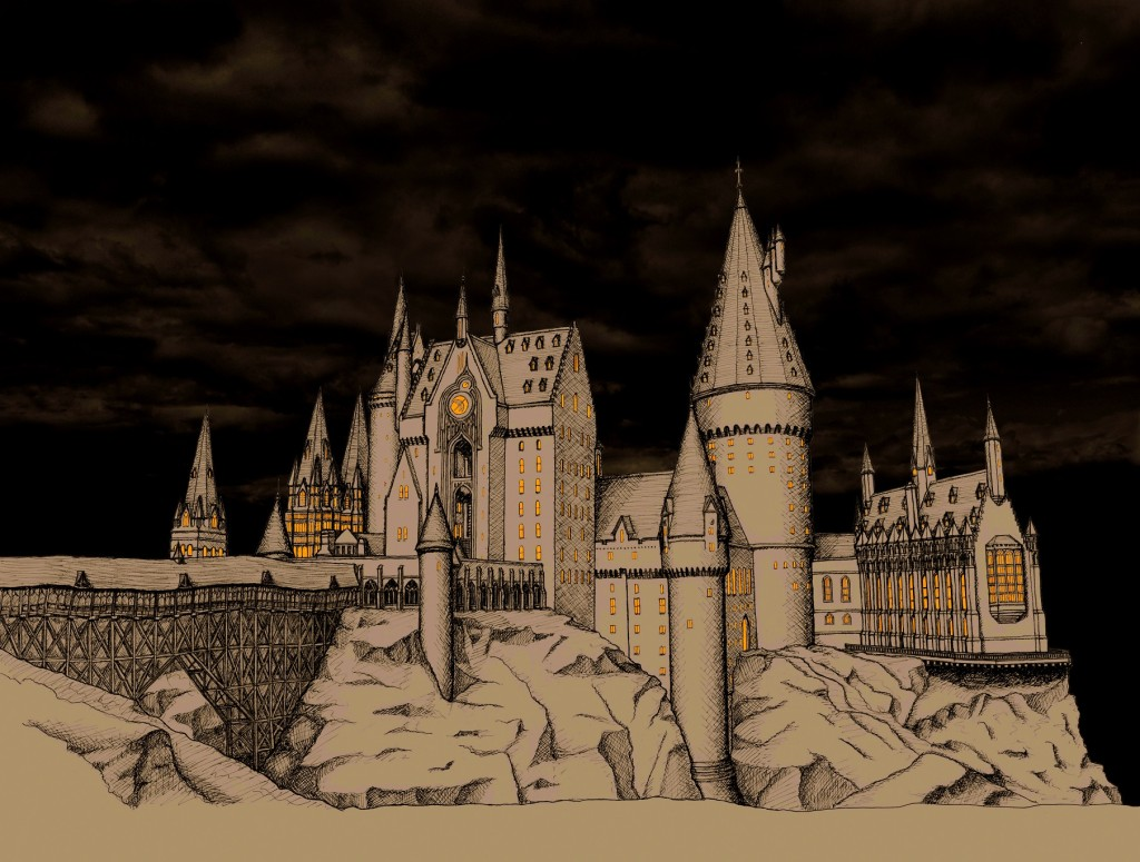 Hogwarts Castle Architecture