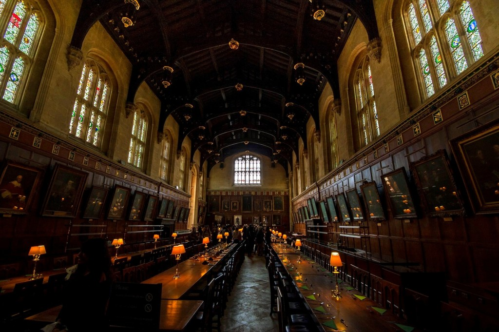 Hogwarts Castle Dining Hall Architecture Oxford