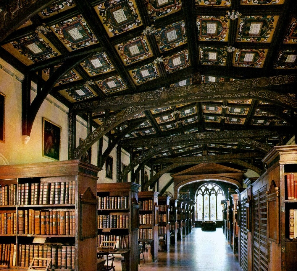 Hogwarts Castle Library at Bodleian Oxford