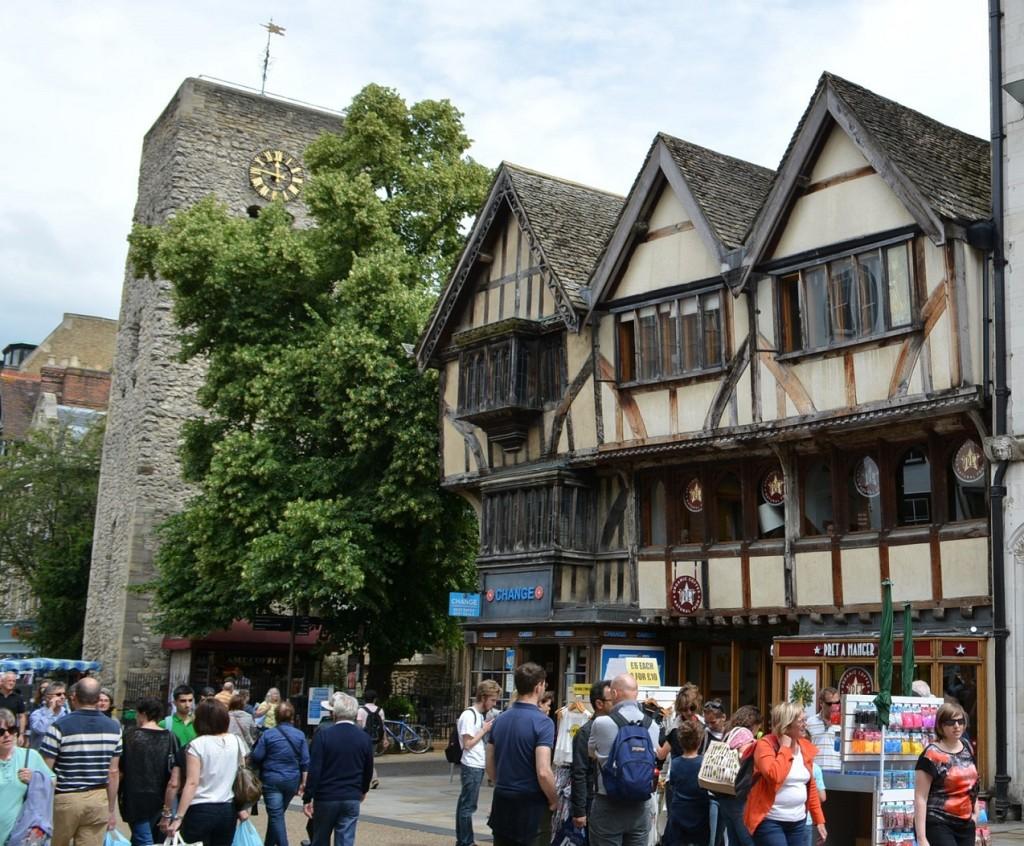 Oxford Architecture on Cornmarket Street