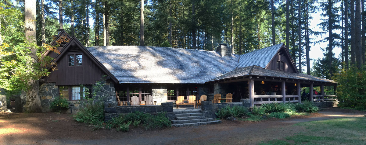 Parkitecture Silver Falls State Park Lodge
