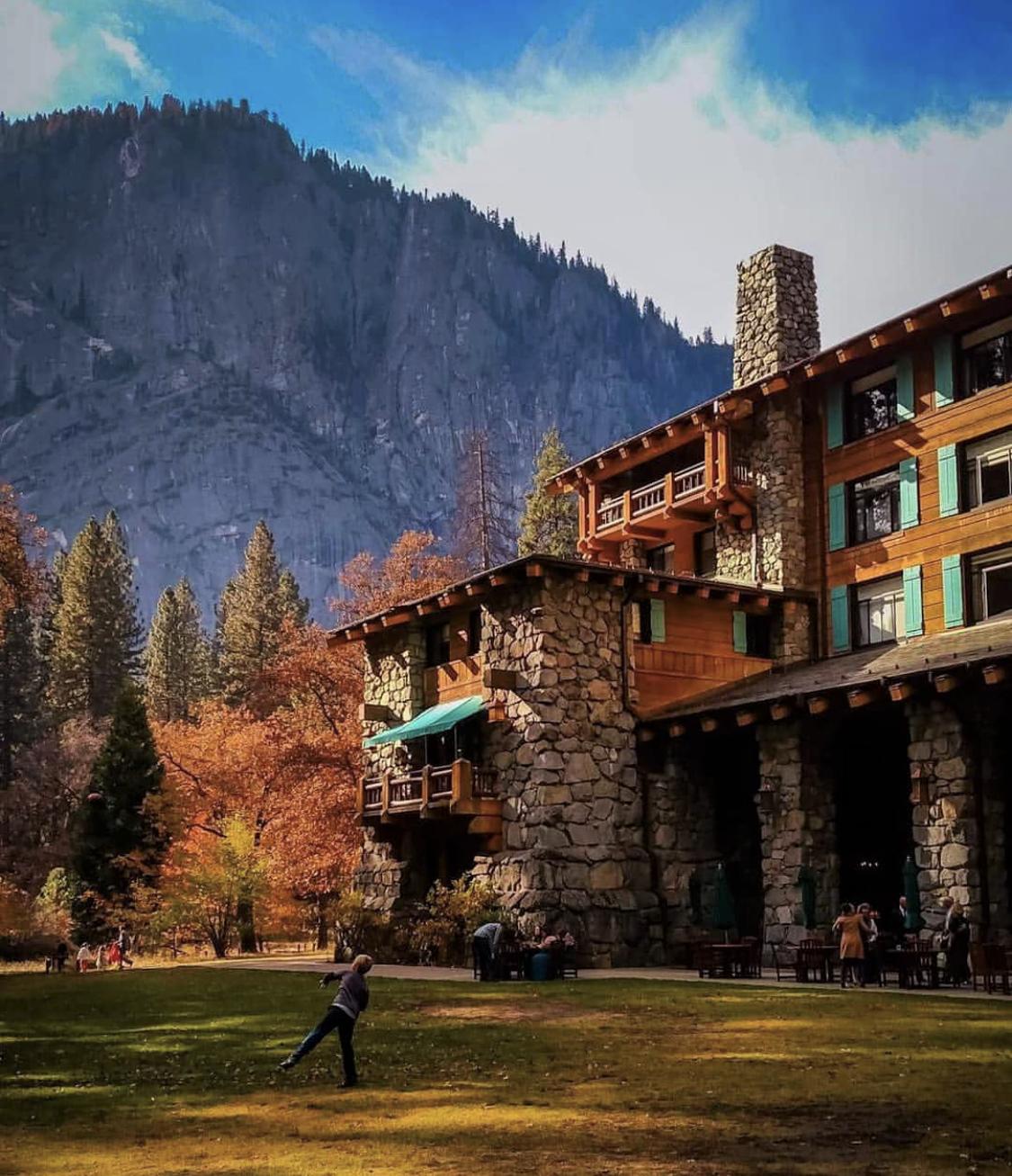 Ahwahnee Hotel Yosemite National Park Lodge