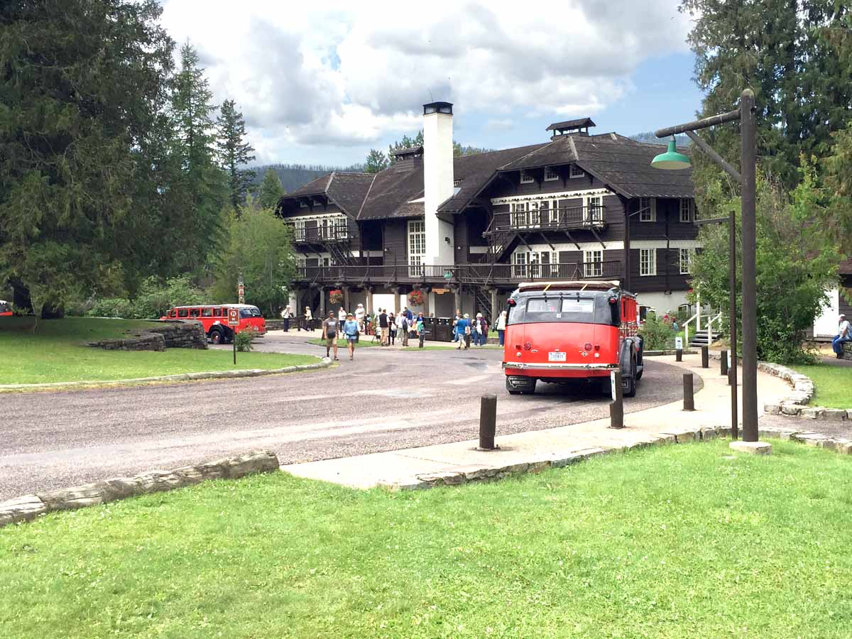 Mountain Architecture Lake Mc Donald Lodge Glacier National Park