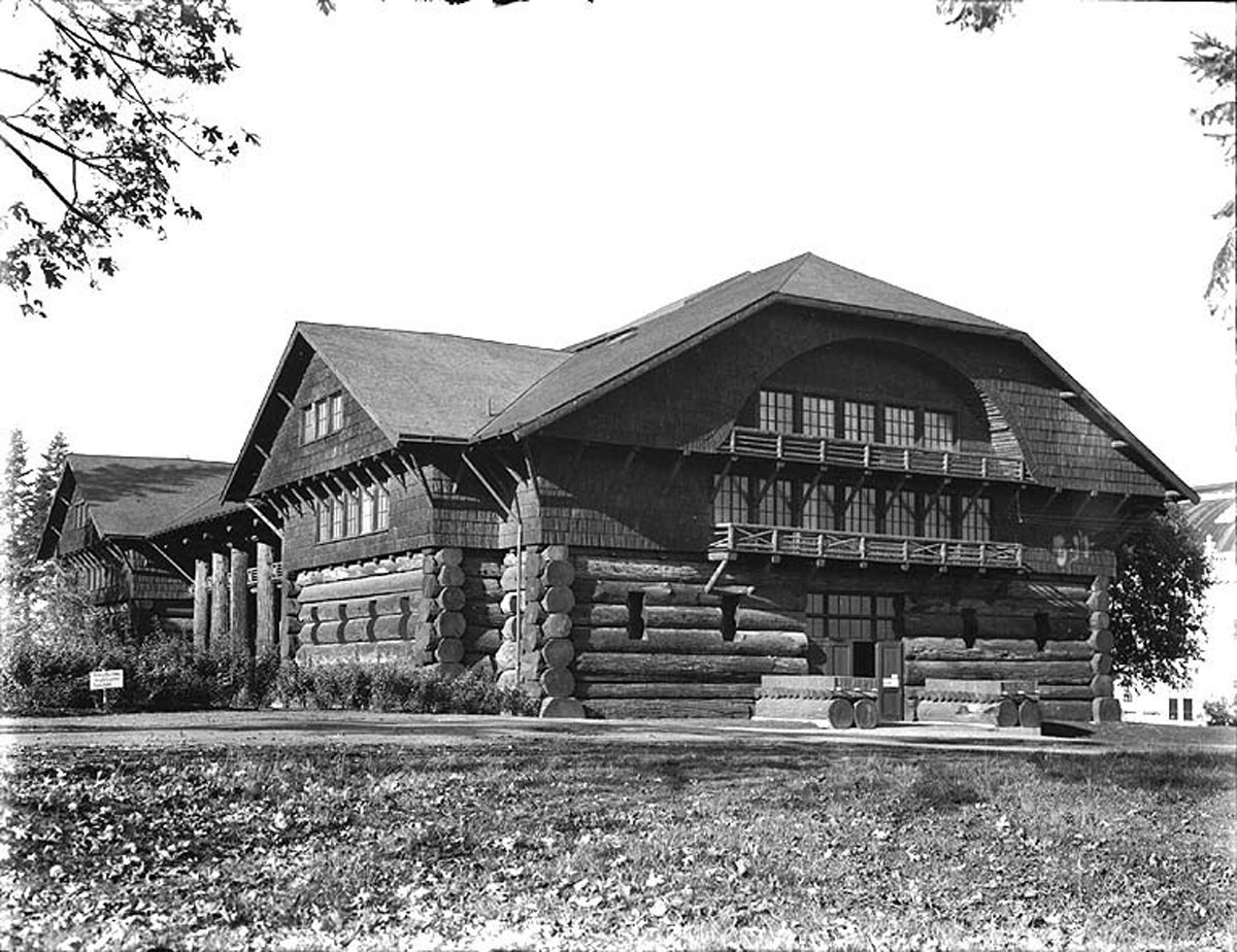 Mountain Architecture World's Largest Log Cabin