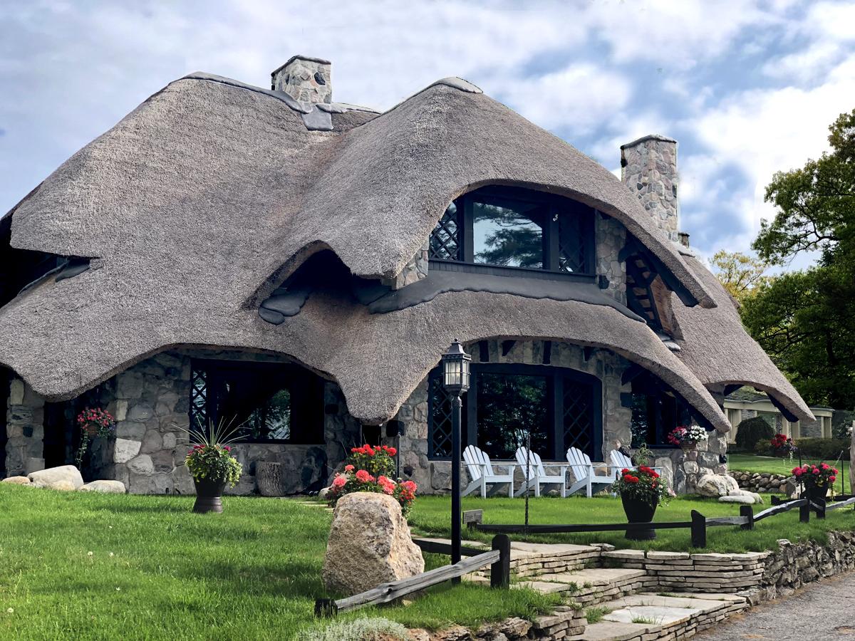 Mushroom House of Charlevoix Michigan