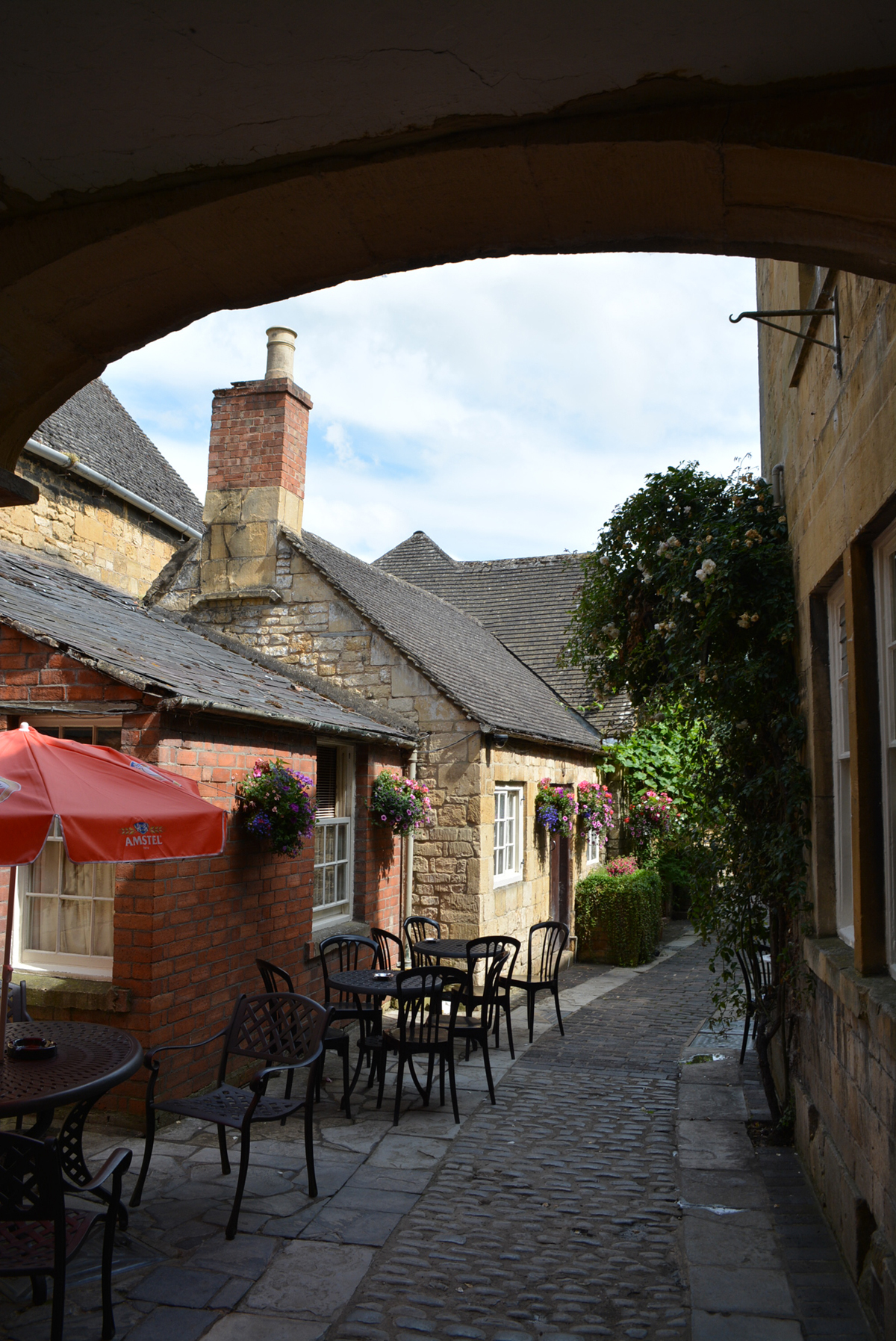 Alley in Chipping Campden's Old World Village