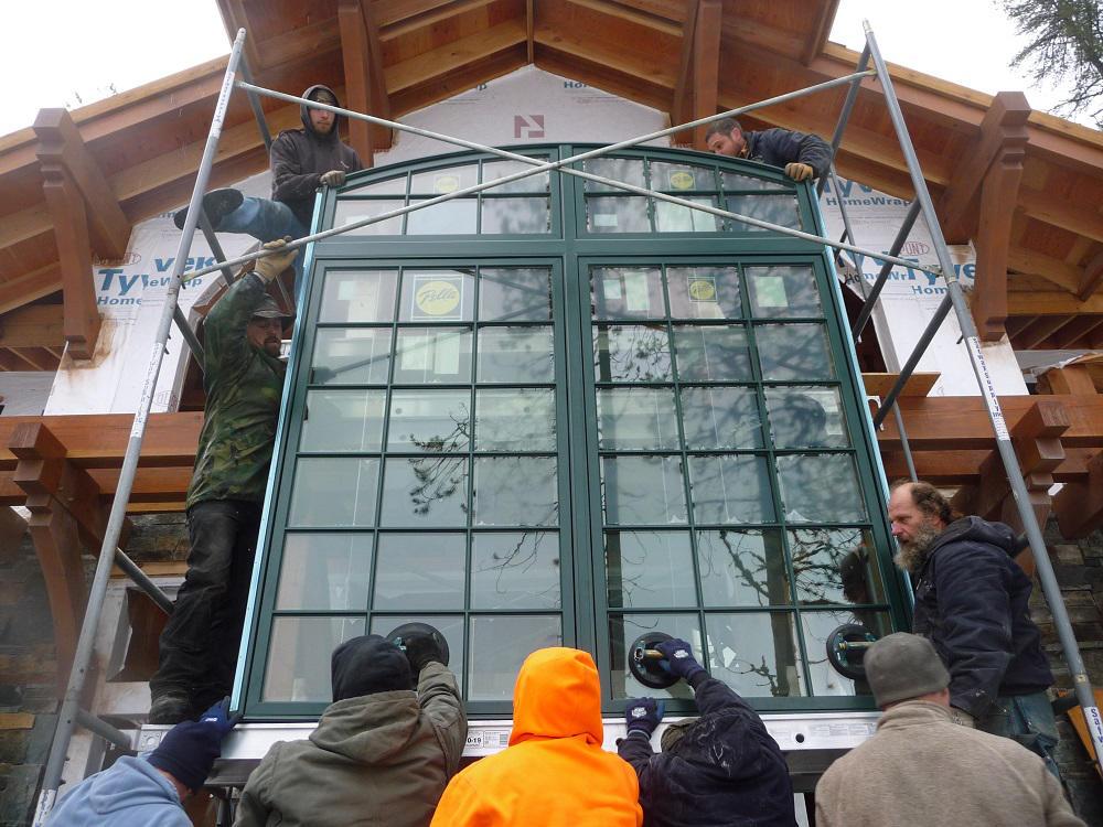 Large Window Installation