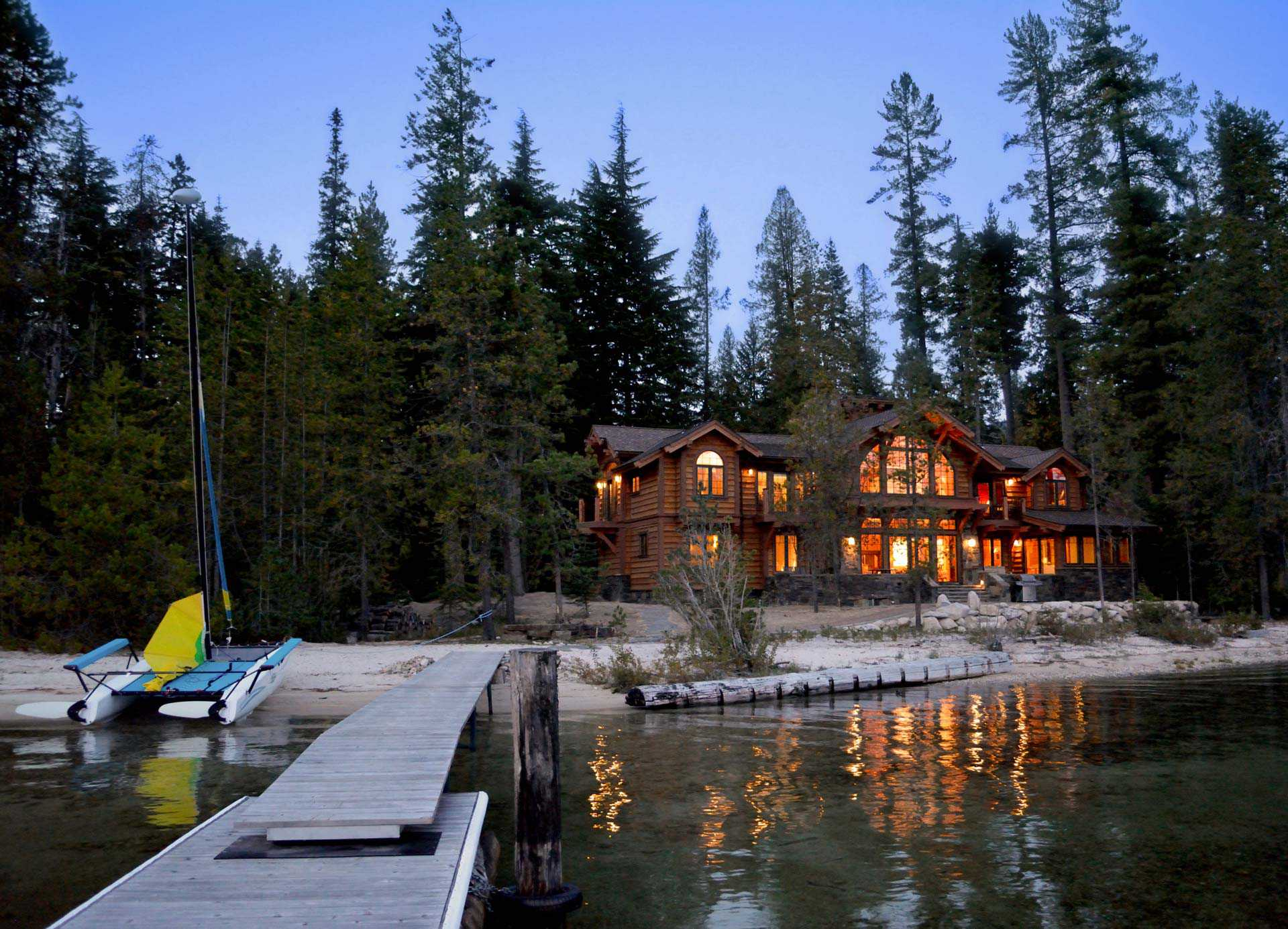 Sketches to Reality: Designing a Waterfront Home on Priest Lake