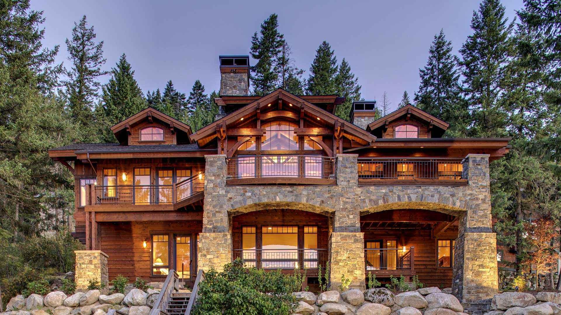 Mountain Home Developments in British Columbia