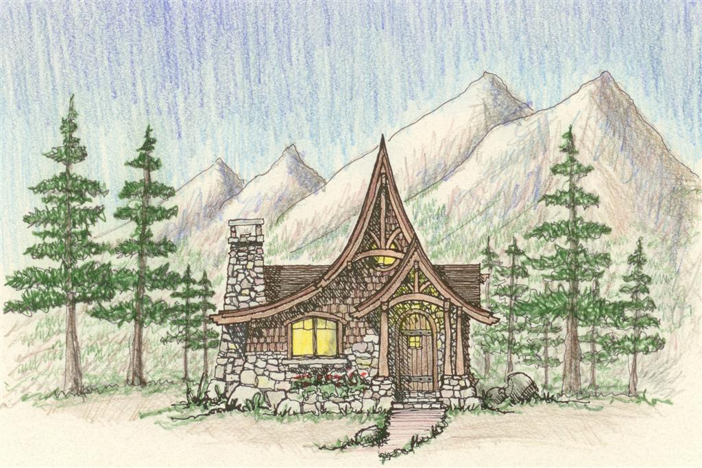 Storybook Cabin Plan